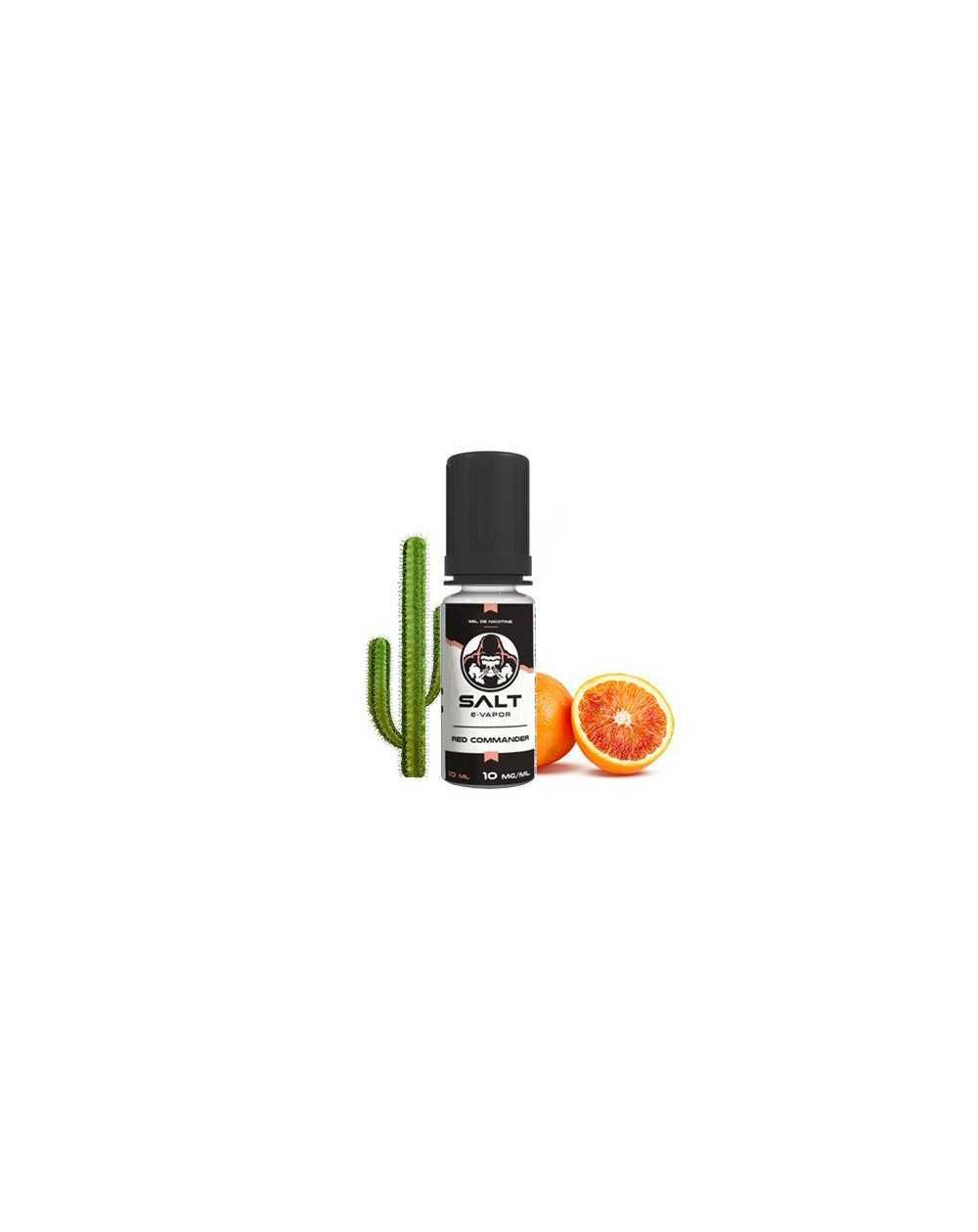 Red Commander 10ml - Salt E-vapor-1