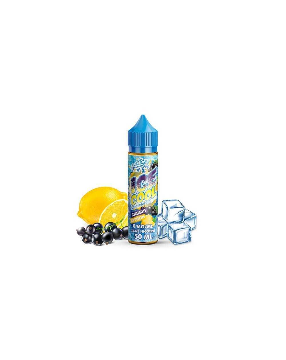 Cassis Citron 50ml - Ice Cool by Liquidarom-1