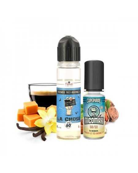 La Chose 50ml + 1 booster Nicomax - Le French Liquide-1