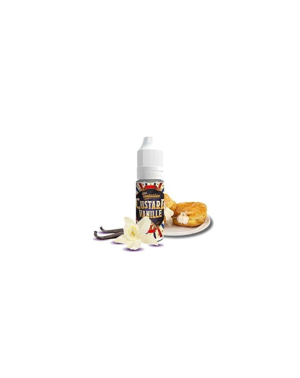 Custard Vanille 10ml - Liquideo Tentation-1