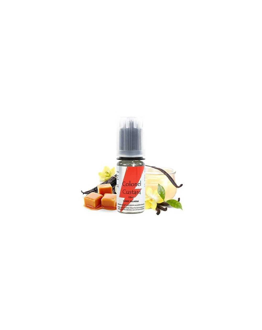 Colonel Custard 10ml - T-Juice-1