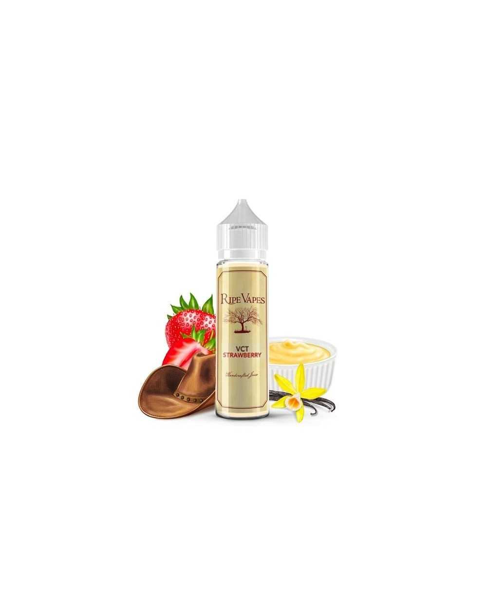 VCT Strawberry 50ml - Ripe Vapes-1