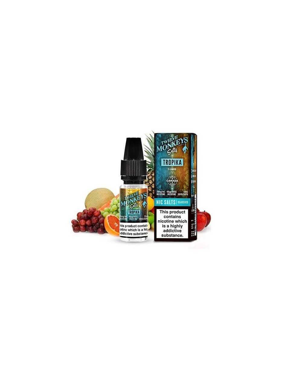 Tropika 10ml - Twelve Monkeys Salts-1