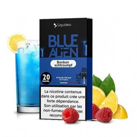 Cartridges nicotine salt Blue Alien - Wpod de Liquideo-1