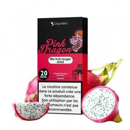 Cartridges nicotine salt Pink Dragon - Wpod de Liquideo-1