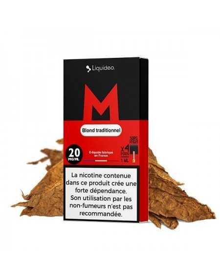 Cartridges nicotine salt Classic M - Wpod de Liquideo-1