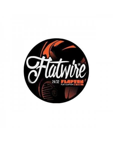Flapton Flat Clapton Stainless 316L 24/32 AWG - Flatwire UK-1