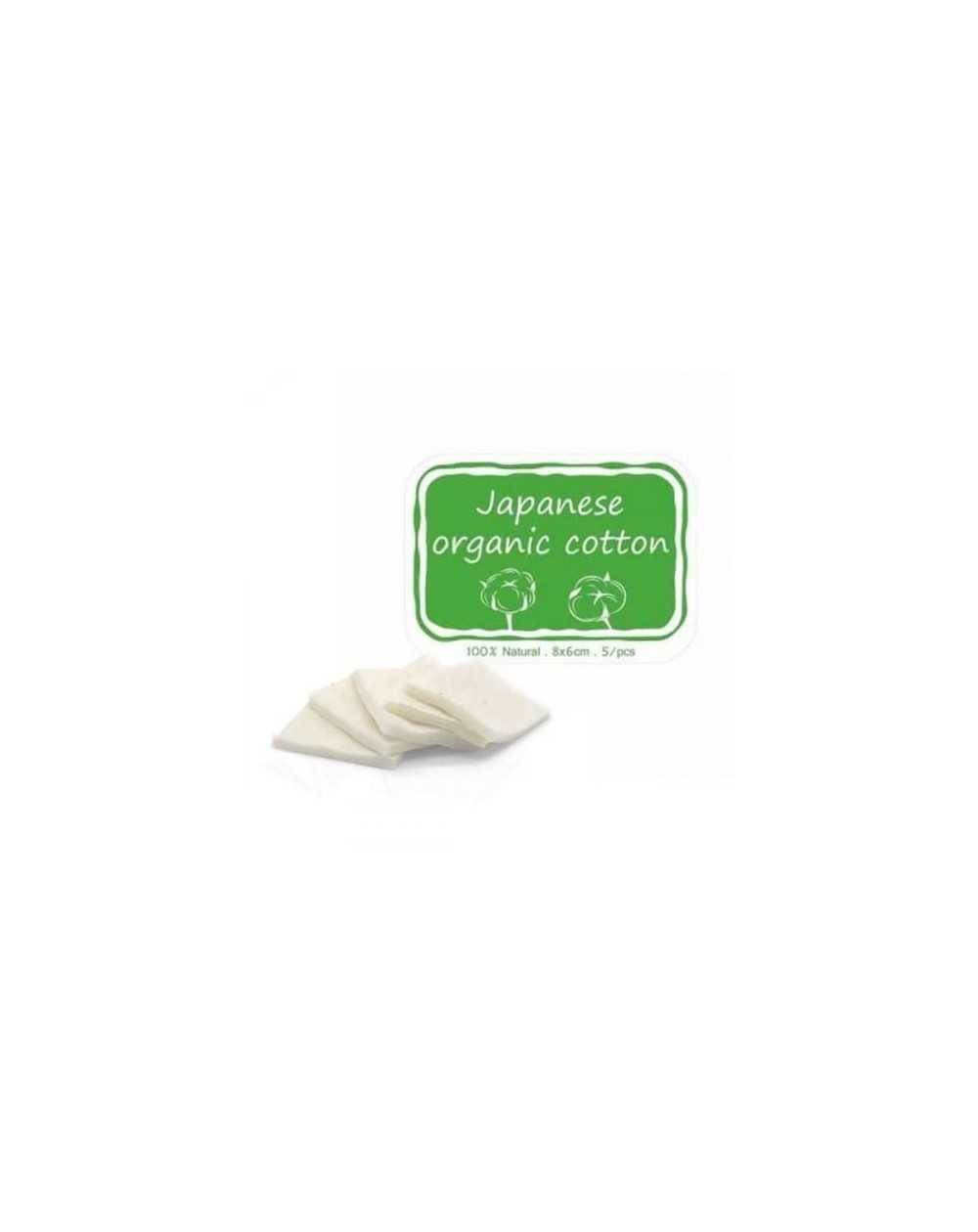Pack of 5 strips of Japanese organic cotton-1
