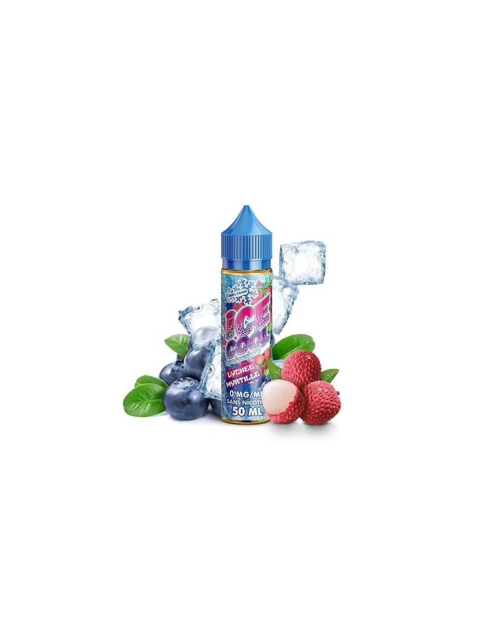 Lychee Myrtille 50ml - Ice Cool by Liquidarom-1