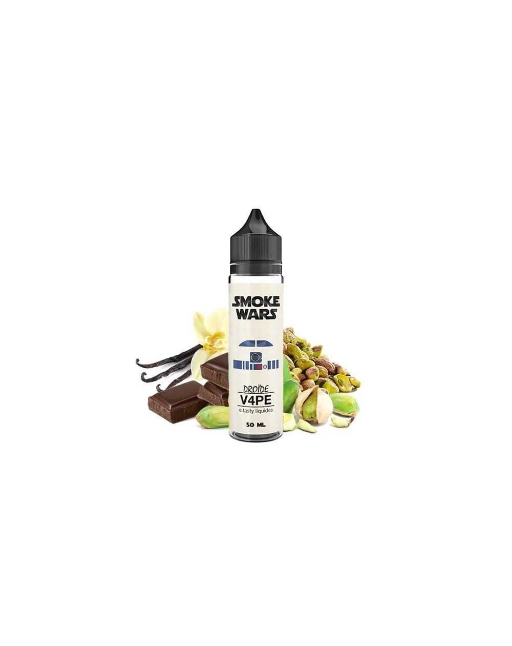 Eliquid Droïde V4PE 50ml - Smoke Wars by e.Tasty-1