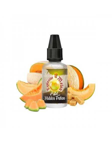 Concentrated aroma Explosive Melon 30ml - Hidden Potion by A&L-1