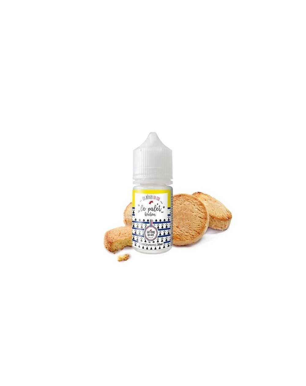 Concentrated aroma Le Palet Breton 30ml - Le Coq Qui Vape-1