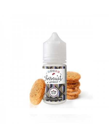 Concentrated aroma Biscuit Sésame 30ml - Le Coq Qui Vape-1