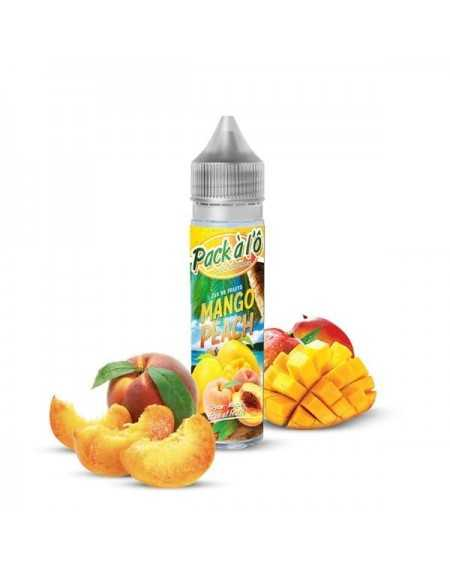 Eliquid Mango Peach 50ml - Pack à l'Ô-1