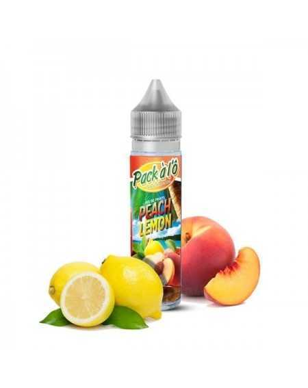 Eliquid Peach Lemon 50ml - Pack à l'Ô-1