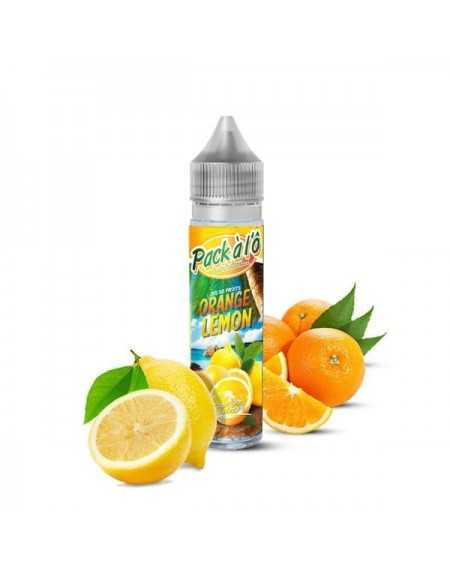 Eliquid Orange Lemon 50ml - Pack à l'Ô-1