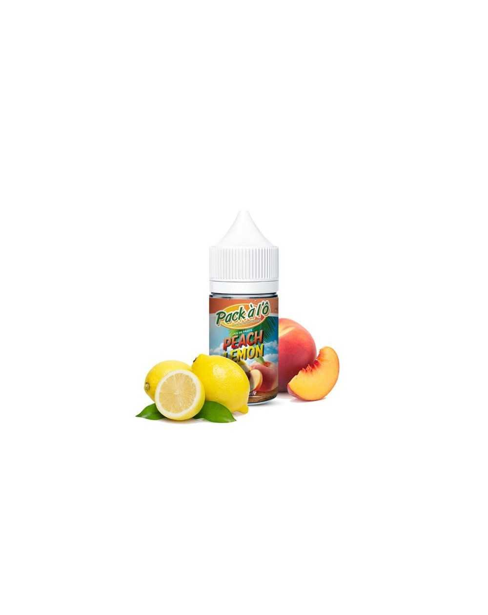 Concentrated aroma Peach Lemon 30ml - Pack à l'Ô-1