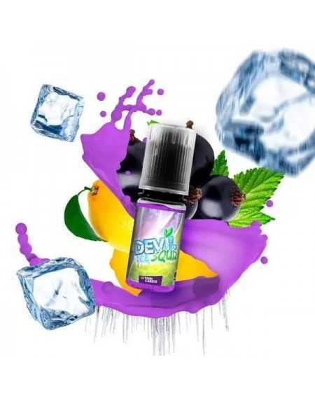 Eliquid Citron Cassis 10ml - Devil Ice Squiz by Avap-1