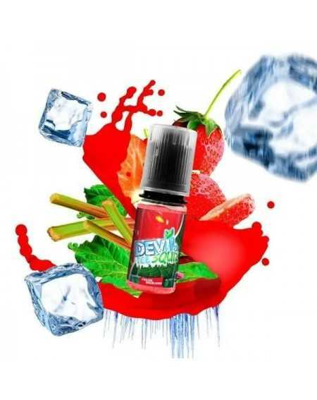 Eliquid Fraise Rhubarbe 10ml - Devil Ice Squiz by Avap-1