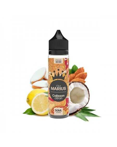 Eliquid Calisson Citron 50ml - Chez Marius by e.Tasty-1