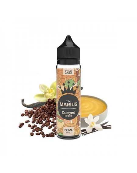 Eliquid Custard Café 50ml - Chez Marius by e.Tasty-1