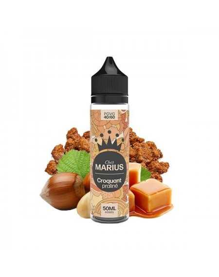 Eliquid Croquant Praliné 50ml - Chez Marius by e.Tasty-1