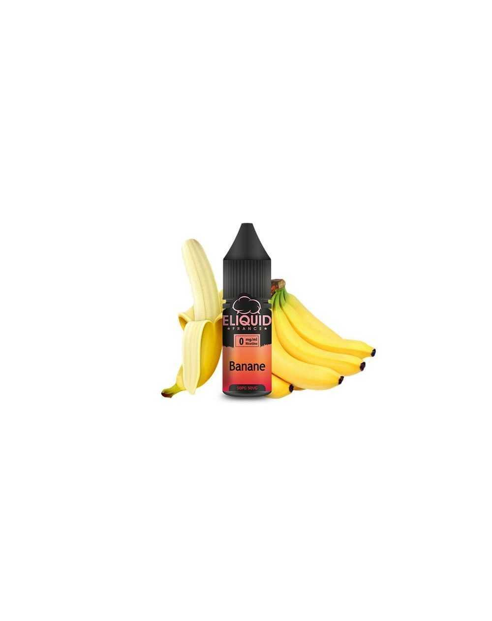 Eliquid Banane 10ml - Eliquid France-1