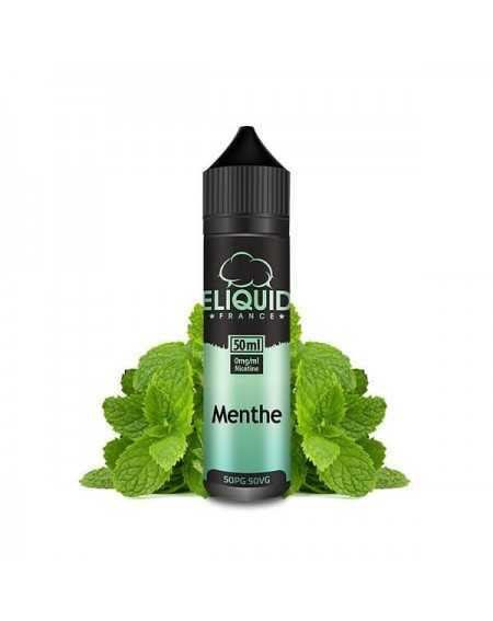 Eliquid Menthe 50ml - Eliquid France-1