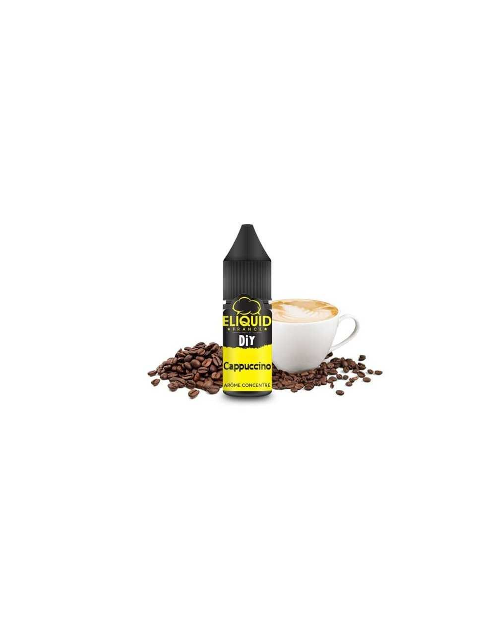 Arôme concentré Cappuccino 10ml - Eliquid France-1
