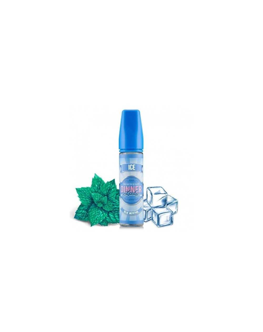 Blue Menthol 50ml - Dinner Lady Ice-1