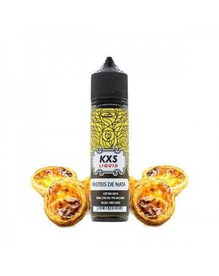 Eliquid Pasteis de Nata 50ml - KXS Liquid-1
