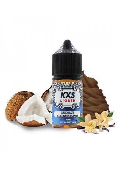Concentrated aroma Chocolate Coconut Custard 30ml - KXS Liquid-1