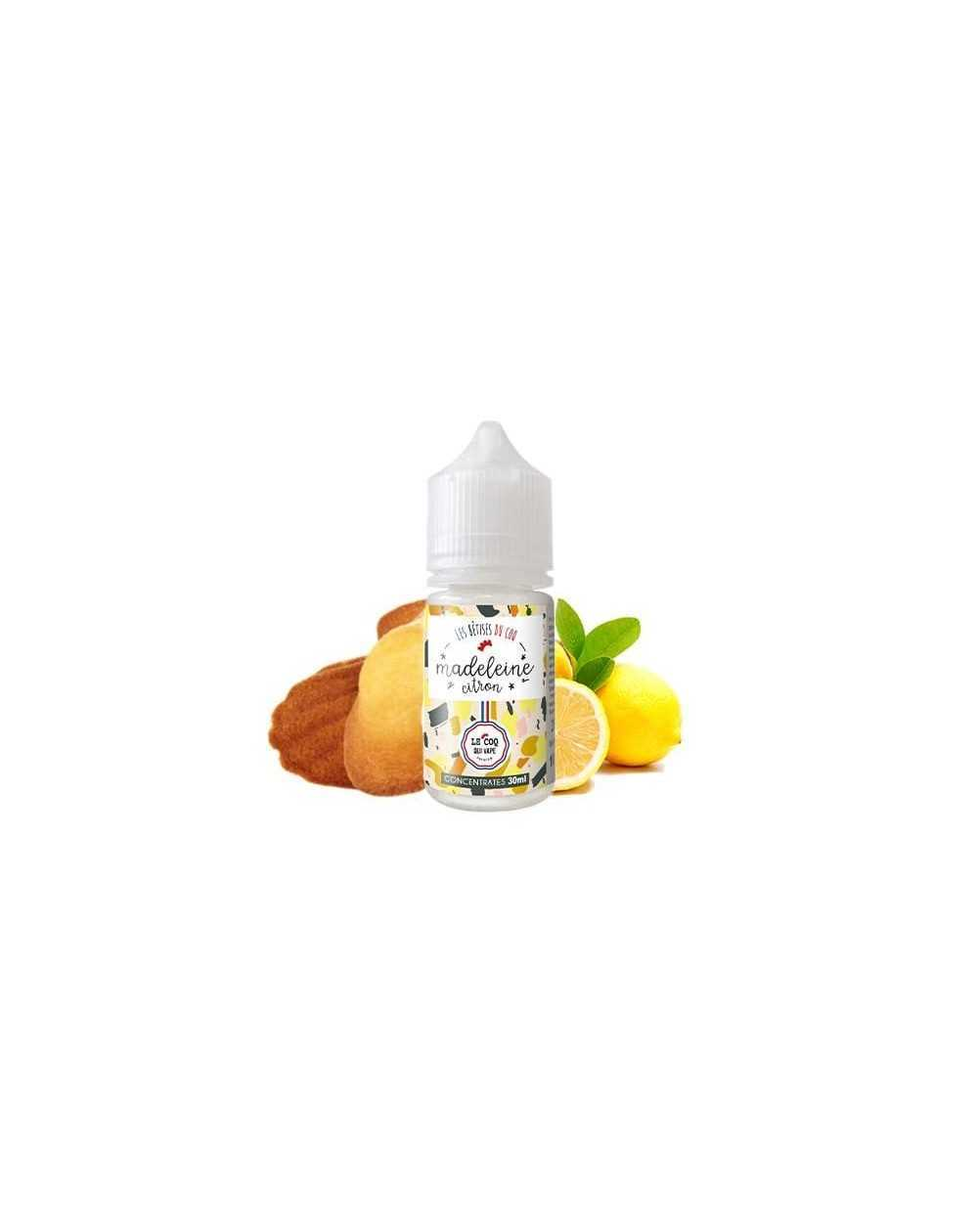 Concentrated aroma Madeleine Citron 30ml - Le Coq Qui Vape-1